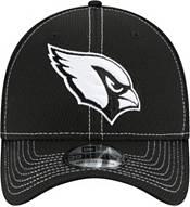 New Era Men's Arizona Cardinals Sideline Road 39Thirty Stretch Fit Black Hat product image