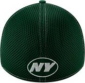 New Era Men's New York Jets Neo Flex Green Stretch Fit Hat product image