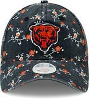 New Era Women's Chicago Bears Navy Blossom Adjustable Hat product image