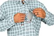 Simms Men's Bugstopper Plaid Long Sleeve Button Down Shirt product image