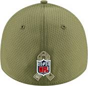New Era Men's Salute to Service New York Giants 39Thirty Olive Stretch Fit Hat product image