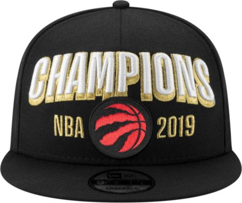 40c8fc4c214 New Era Men's 2019 NBA Champions Toronto Raptors 9Fifty Locker Room  Adjustable Snapback Hat