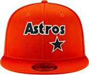 New Era Men's Houston Astros Orange 59Fifty Clubhouse Fitted Hat product image