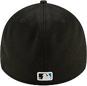 New Era Men's Miami Marlins Black 39Thirty Clubhouse Stretch Fit Hat product image