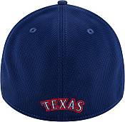 New Era Men's Texas Rangers Blue 39Thirty Clubhouse Stretch Fit Hat product image