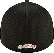 New Era Men's San Francisco Giants Black 39Thirty Clubhouse Stretch Fit Hat product image