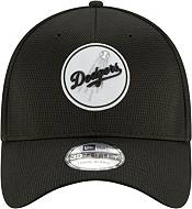 New Era Men's Los Angeles Dodgers Black 39Thirty Clubhouse Stretch Fit Hat product image