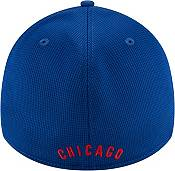 New Era Men's Chicago Cubs Blue 39Thirty Clubhouse Stretch Fit Hat product image