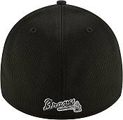 New Era Men's Atlanta Braves Black 39Thirty Clubhouse Stretch Fit Hat product image