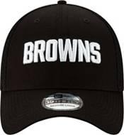 New Era Men's Cleveland Browns Black 9Forty Trucker Adjustable Hat product image