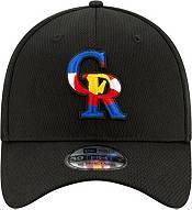New Era Men's Colorado Rockies 39Thirty Black Batting Practice Stretch Fit Hat product image