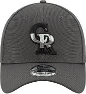 New Era Men's Colorado Rockies 39Thirty Grey Batting Practice Stretch Fit Hat product image