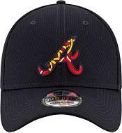 New Era Men's Atlanta Braves 39Thirty Navy Batting Practice Stretch Fit Hat product image