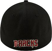 New Era Men's Arizona Diamondbacks 39Thirty Black Batting Practice Stretch Fit Hat product image