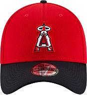 New Era Men's Los Angeles Angels 39Thirty Red Batting Practice Stretch Fit Hat product image