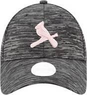 New Era Women's St. Louis Cardinals Gray 9Forty Tech League Adjustable Hat product image