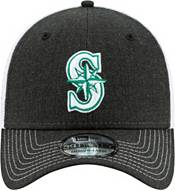 New Era Men's Seattle Mariners Black 39Thirty Heather Neo Stretch Fit Hat product image