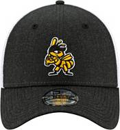 New Era Men's Salt Lake Bees Dark Gray 39Thirty Heather Neo Stretch Fit Hat product image