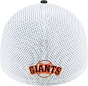 New Era Men's San Francisco Giants Black 39Thirty Heather Neo Stretch Fit Hat product image