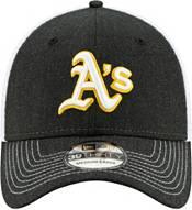 New Era Men's Oakland Athletics Black 39Thirty Heather Neo Stretch Fit Hat product image