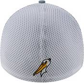 New Era Men's Myrtle Beach Pelicans Blue 39Thirty Heather Neo Stretch Fit Hat product image