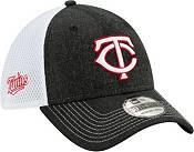 New Era Men's Minnesota Twins Black 39Thirty Heather Neo Stretch Fit Hat product image