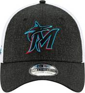 New Era Men's Miami Marlins Gray 39Thirty Heather Neo Stretch Fit Hat product image