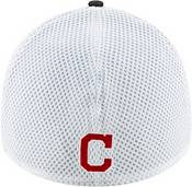 New Era Men's Cleveland Indians Black 39Thirty Heather Neo Stretch Fit Hat product image