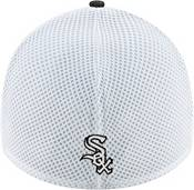 New Era Men's Chicago White Sox Black 39Thirty Heather Neo Stretch Fit Hat product image