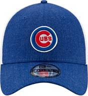 New Era Men's Chicago Cubs Blue 39Thirty Heather Neo Stretch Fit Hat product image