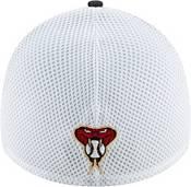 New Era Men's Arizona Diamondbacks Black 39Thirty Heather Neo Stretch Fit Hat product image