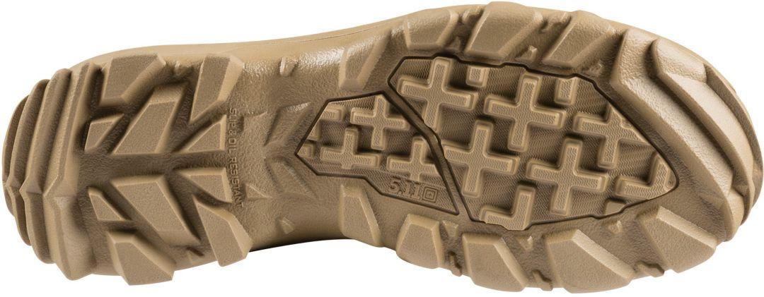 5.11 Tactical Men's Speed 3.0 Coyote Side Zip Tactical Boots