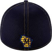 New Era Men's Milwaukee Brewers Navy 39Thirty Neo Stretch Fit Hat product image