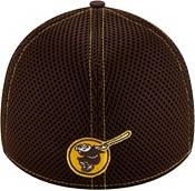 New Era Men's San Diego Padres Brown 39Thirty Neo Stretch Fit Hat product image