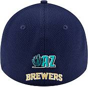 New Era Men's 2020 Spring Training Milwaukee Brewers Navy 39Thirty Stretch Fit Hat product image