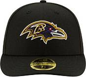 New Era Men's Baltimore Ravens 2020 NFL Draft 59Fifty Fitted Black Hat product image