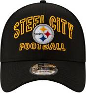New Era Men's Pittsburgh Steelers 2020 NFL Draft Alternate 39Thirty Stretch Fit Black Hat product image