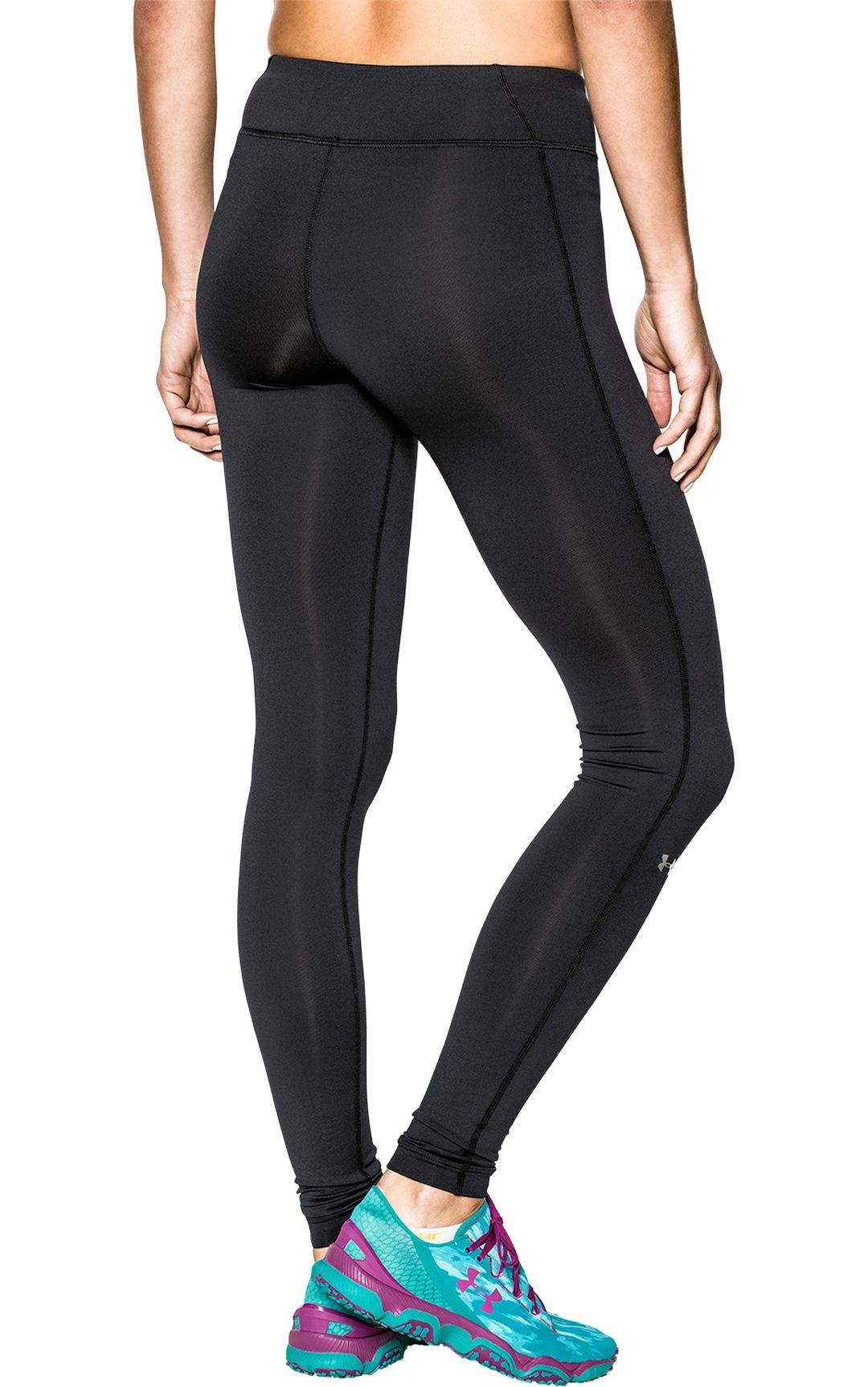 99958e8c15164f Under Armour Women's Authentic ColdGear Compression Leggings. noImageFound.  Previous. 1. 2