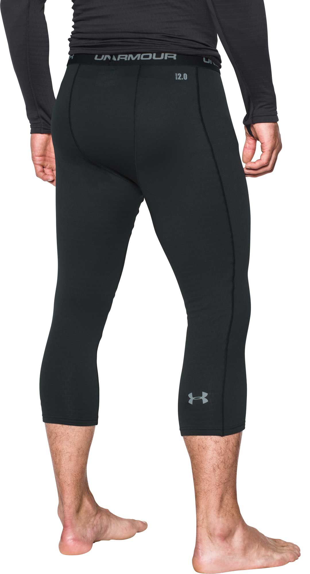 hot-selling genuine drop shipping drop shipping Under Armour Men's Base 2.0 Cropped Leggings