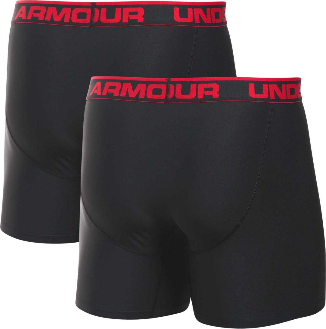 7aeecccb6a4 Under Armour Men's O Series 6'' Boxerjock Boxer Briefs 2 Pack.  noImageFound. Previous. 1. 2