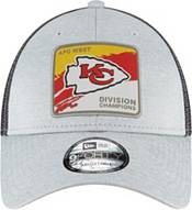 New Era Men's Kansas City Chiefs AFC West Division Champions 9Forty Grey Adjustable Hat product image