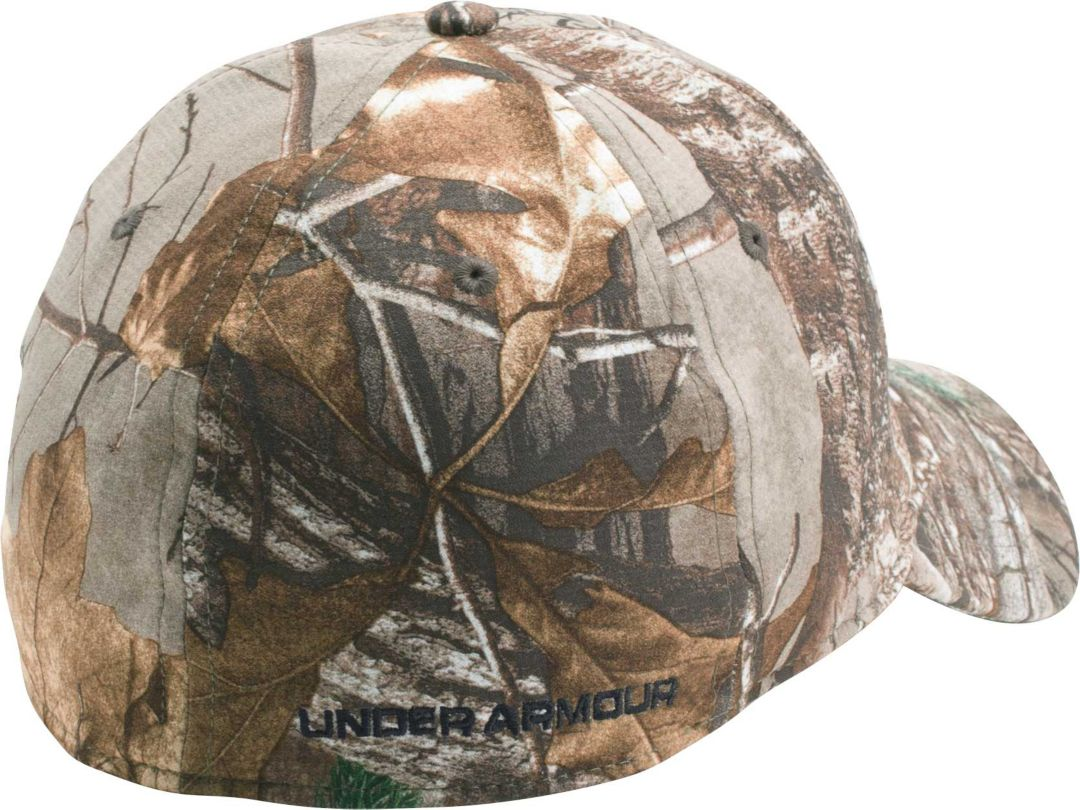 dc7b9f18356 Under Armour Men's Camo Stretch Fit Hat | DICK'S Sporting Goods