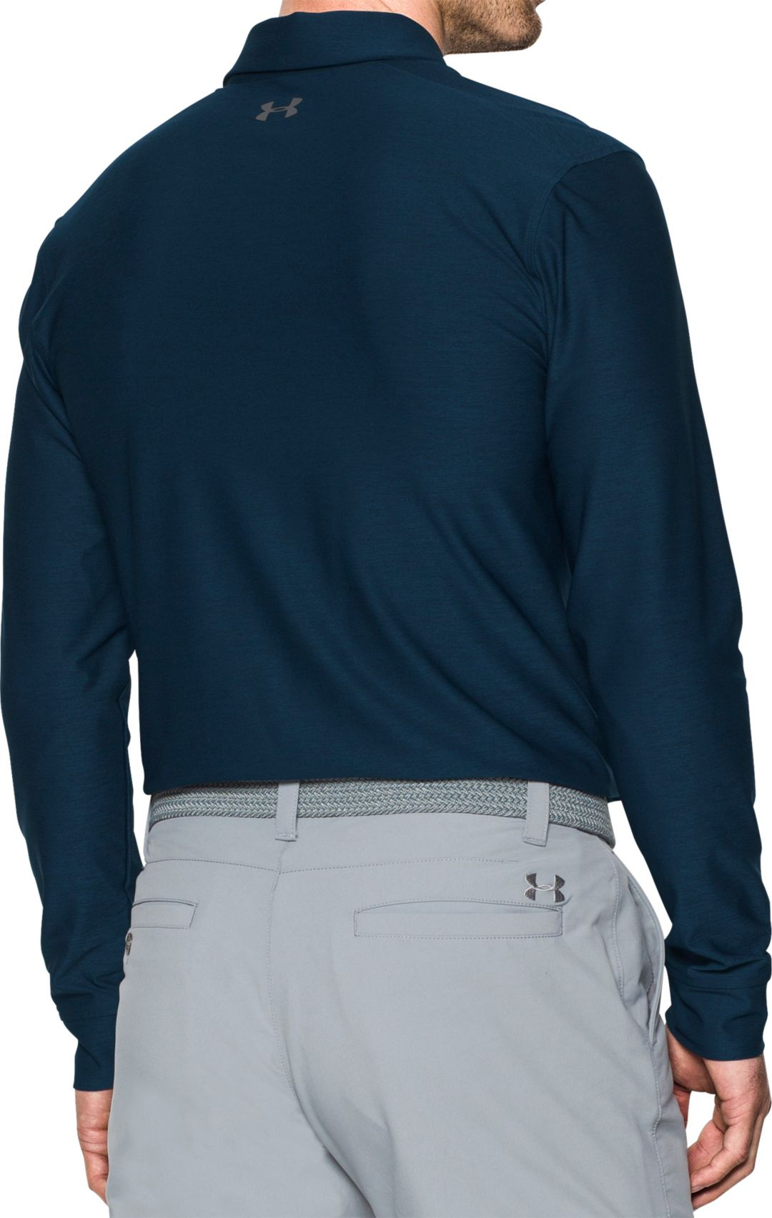 70be0eedf4 Under Armour Men's Long Sleeve Golf Polo | DICK'S Sporting Goods