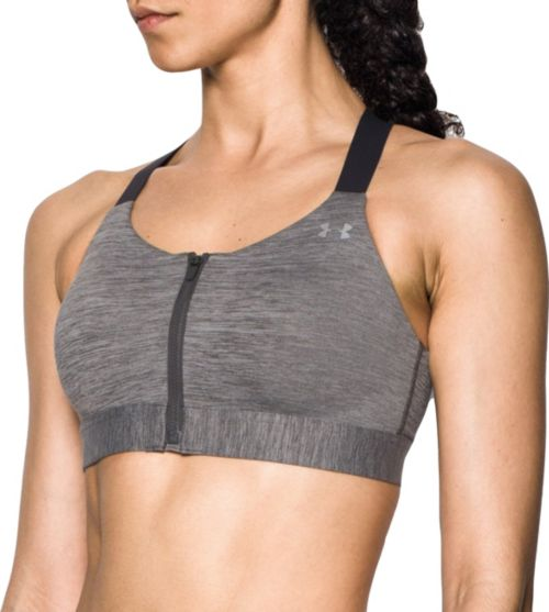 fe014e15ce Under Armour Women s Eclipse Zip Front High-Impact Sports Bra.  noImageFound. Previous. 1. 2. 3