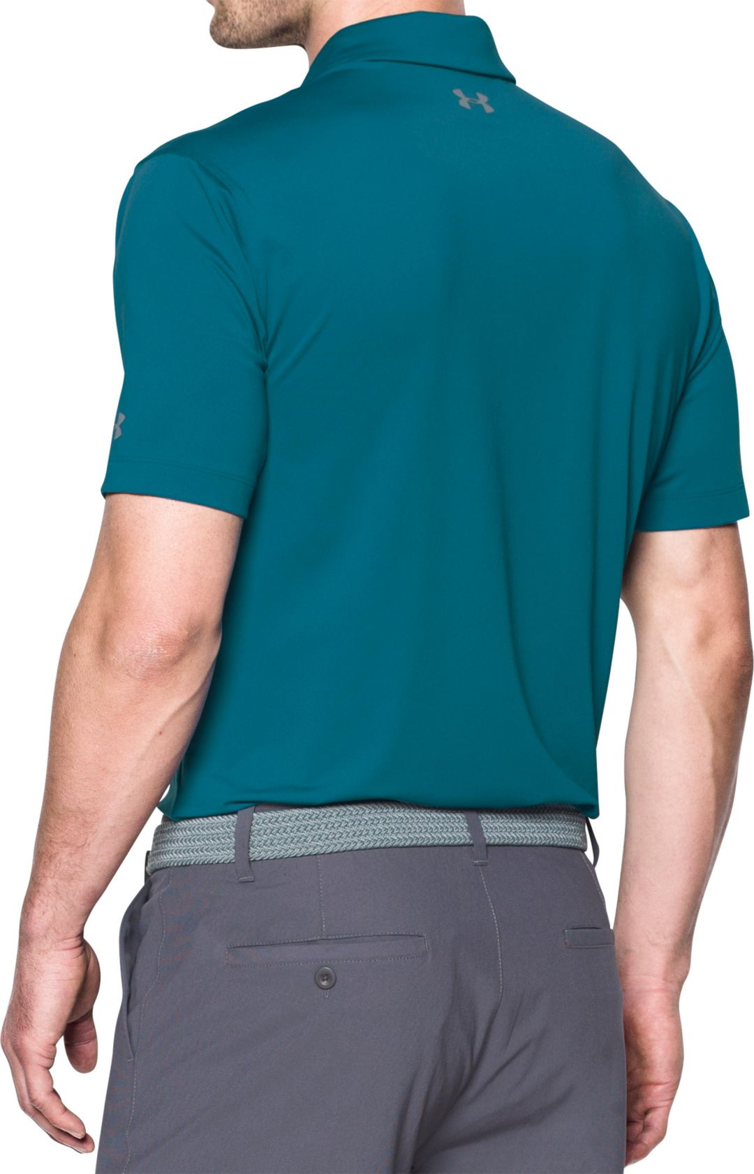 1f1103ec Under Armour Men's CoolSwitch Brassie Stripe Golf Polo | DICK'S ...