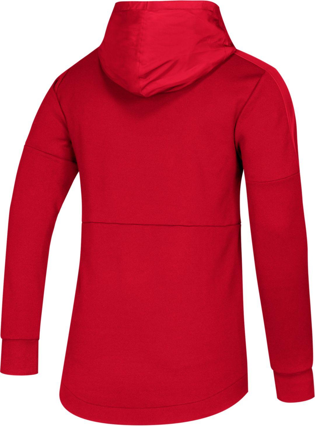 meet e5fbc 4100d adidas Men's Louisville Cardinals Cardinal Red Game Mode Sideline Pullover  Hoodie