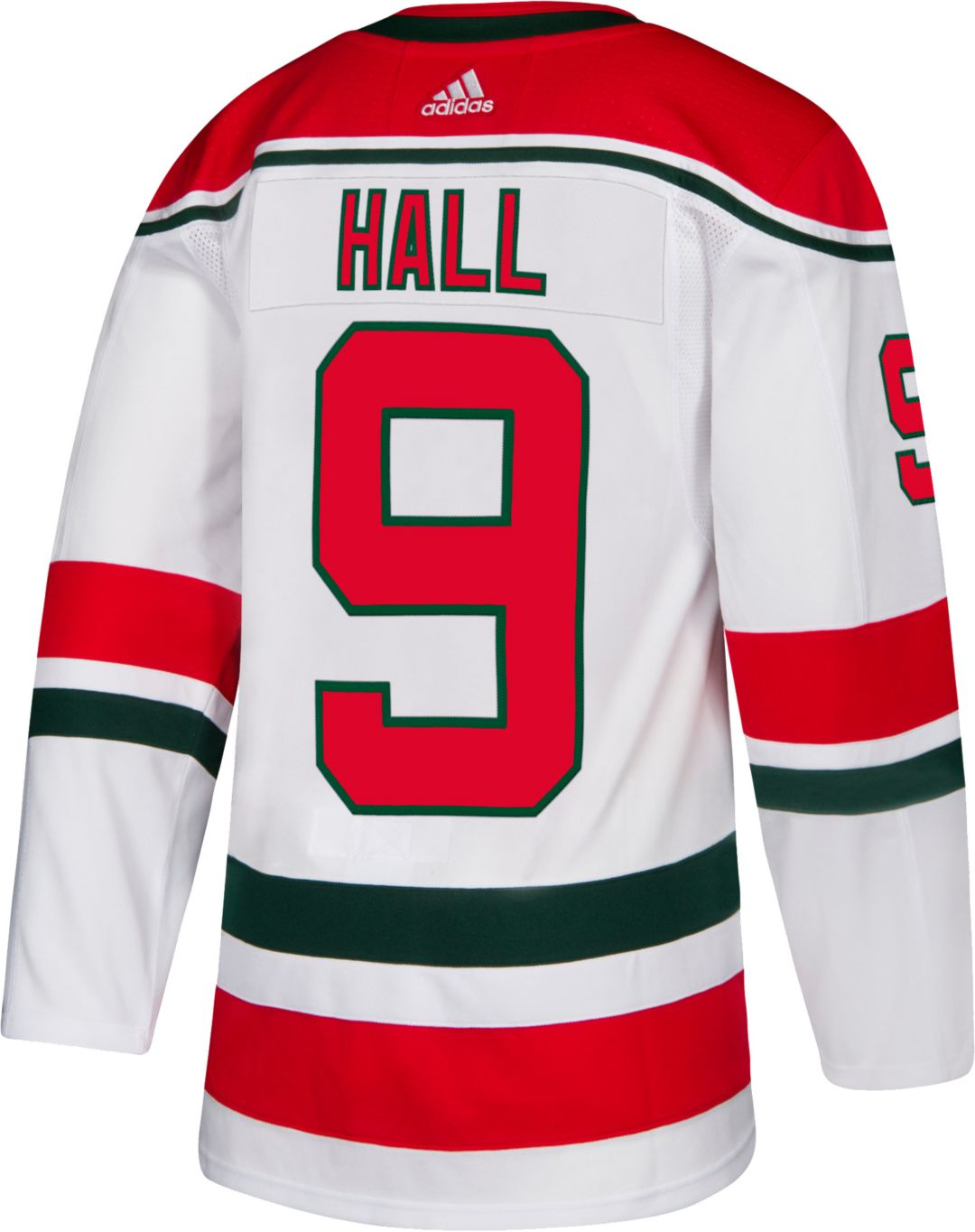 new styles 1148a b1a4e adidas Men's New Jersey Devils Taylor Hall #9 Authentic Pro Retro Jersey