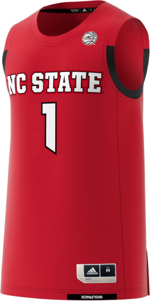 40dd4765a2c3 adidas Men s NC State Wolfpack  1 Red Replica Basketball Jersey.  noImageFound. Previous