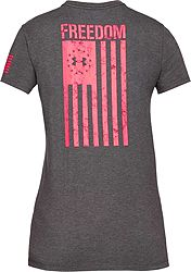 2e3fac98 Under Armour Women's Freedom Flag 2.0 T-Shirt | DICK'S Sporting Goods