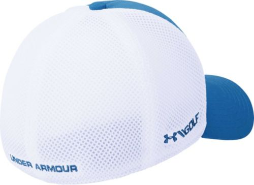 20086704b82 Under Armour Men s Threadborne Mesh Golf Hat